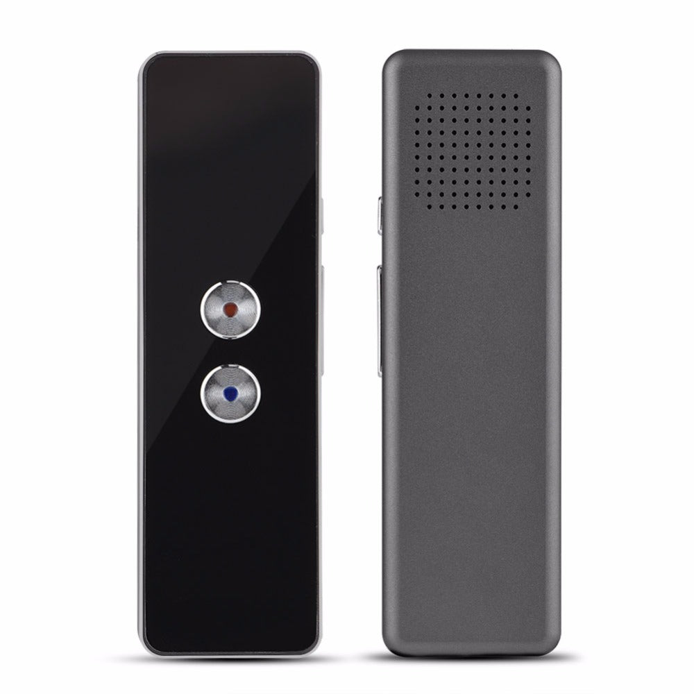 Portable Smart Two Way Voice Translator (30+ Languages Built-In)