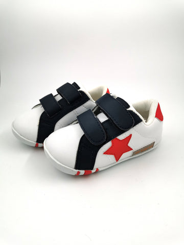 Crtartu White Takkie with Red Star - Stage 1