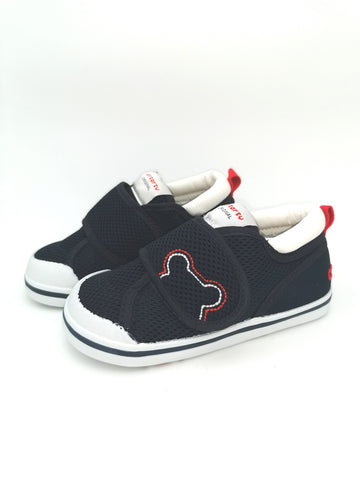 Navy Teddy Sneakers - Stage 2