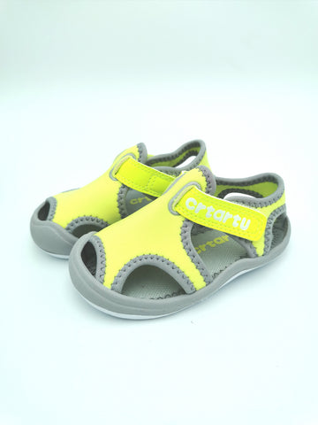 Yellow & Grey Sandal
