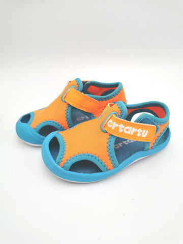 Blue & Orange Sandal