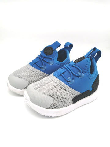 Blue & Grey Pull-On Sneaker