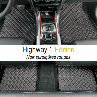 tapis de sol universels voiture luxe