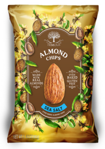 ALMOND CHIPS (SEA SALT)