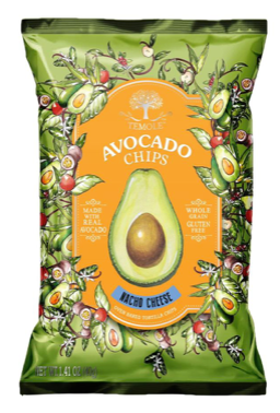 AVOCADO CHIPS (NACHO CHEESE)