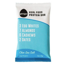 Real Food Protein Bar (Choc + Sea Salt) 55g