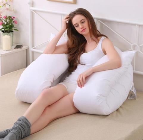 product support in pillow reading for pyramid back relaxation bed body large