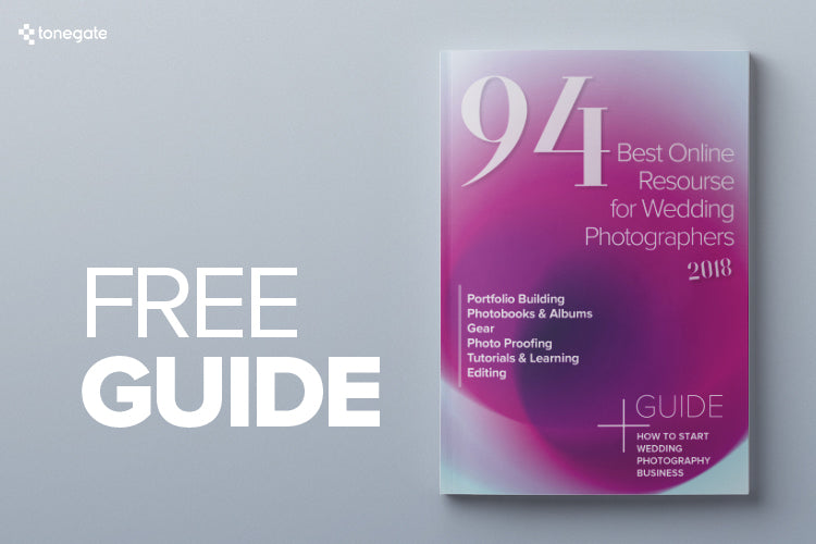 FREE GUIDE: 94 Best Online Resourse for Wedding Photographer 2018