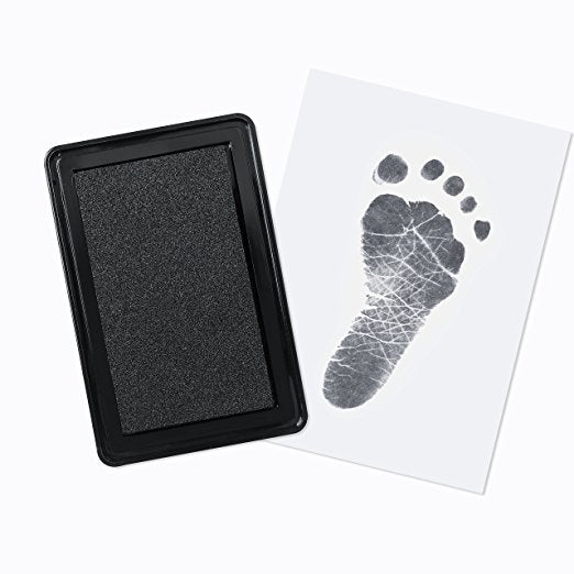 Baby Safe Footprint Handprint Ink Pad Kit