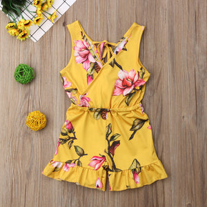 Lovely Floral Sleeveless Sets