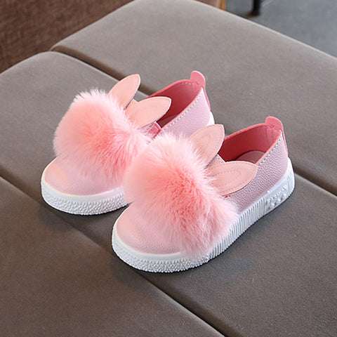 Baby Girl Cute Rabbit Anti-slip Soft Sole Shoes