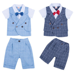 Boy Baby Boy Gentleman Bow Tie Set