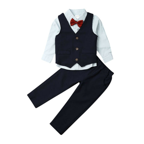 Boy Baby Boy Gentlemen Suit Set