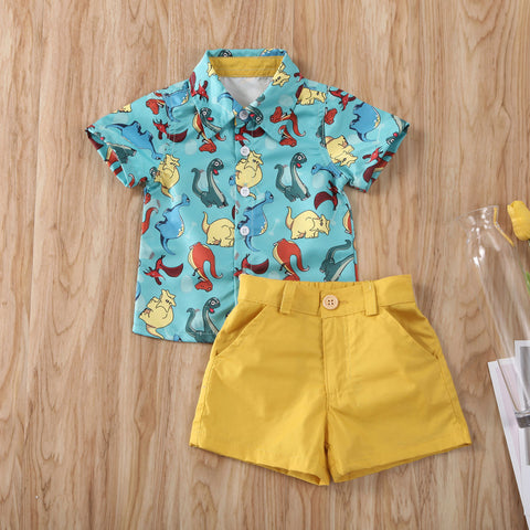 Tucker Dinosaur Summer Set