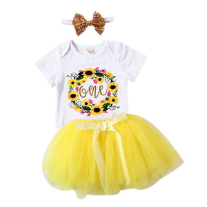 One Birthday Party Dress Set