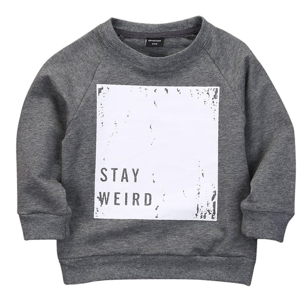 Kids Baby Boy Blouse Stay Weird