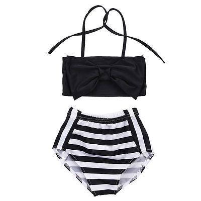 Girl Tankini Black&White Set Swimwear