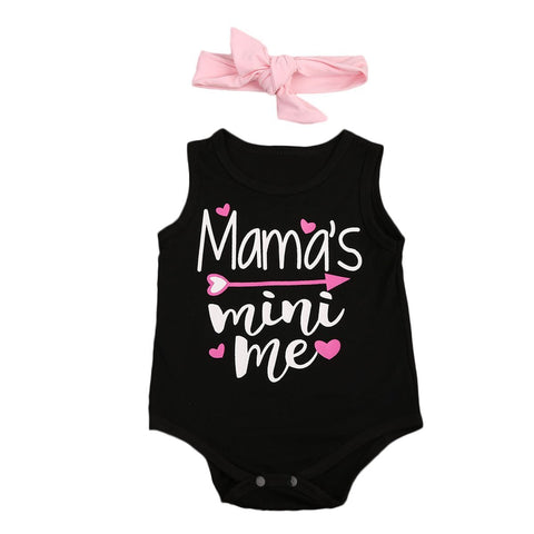 Baby Girl Set Mamas Mini Me