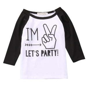 Boy Girl Baby Blouse Party