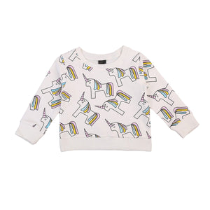 Girl Baby Girl Blouse My Unicorn