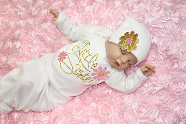 Baby Girl Sleepwear Little Me