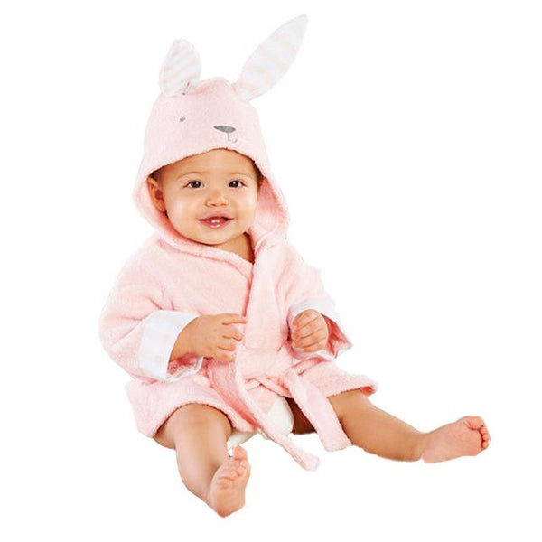 Kids Baby Boy Girl Funny Animal Bathrobe