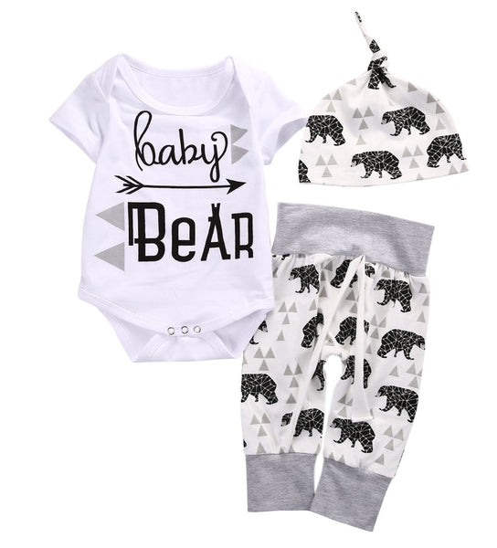 Baby Boy Girl Set A Baby Bear