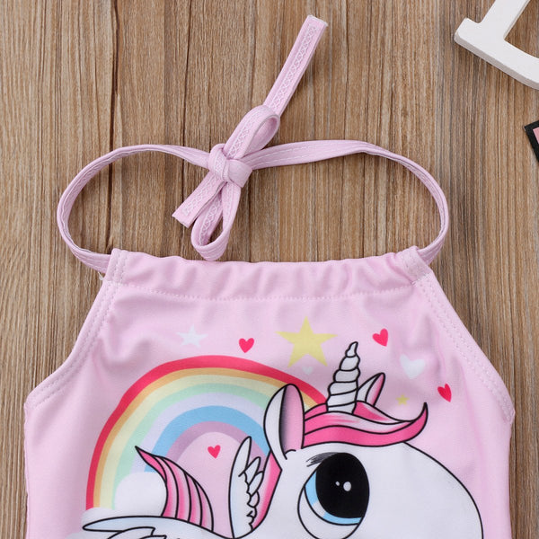 Baby Girl Swimwear Pink Unicorn