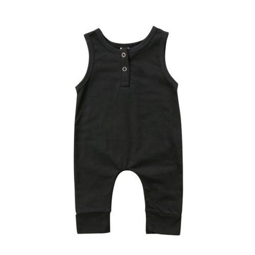 Baby Boy Girl Jumpsuit Black Collection