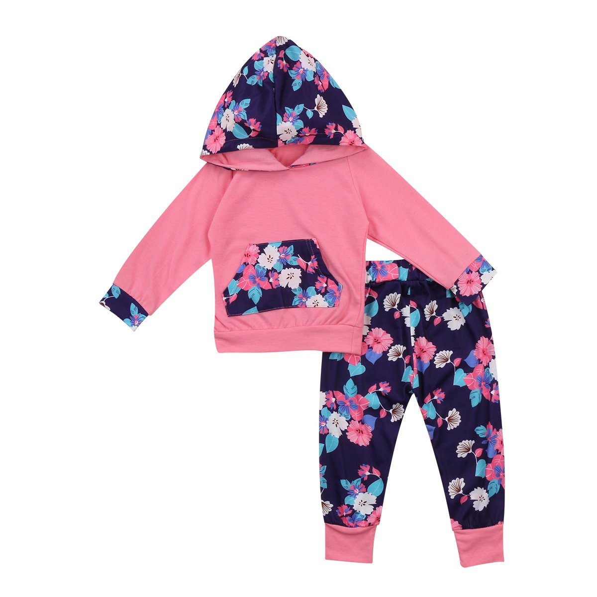 Girl Baby Girl Set Fresh Flowers