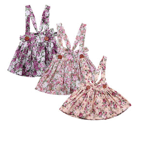 Girl Baby Girl Dress Multi Floral Tutu