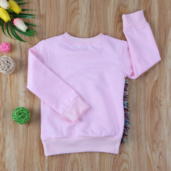 Girl Baby Girl Blouse Dancing Unicorn