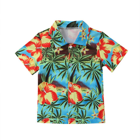 Boy Baby Boy T-shirt O Coconut Tree
