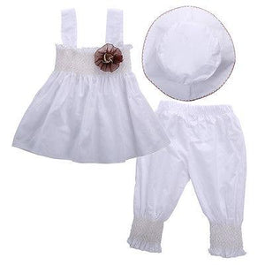 Girl Baby Girl Set White Fascination