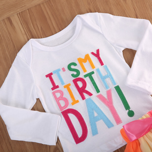 Girl Baby Girl Set O Birthday Party