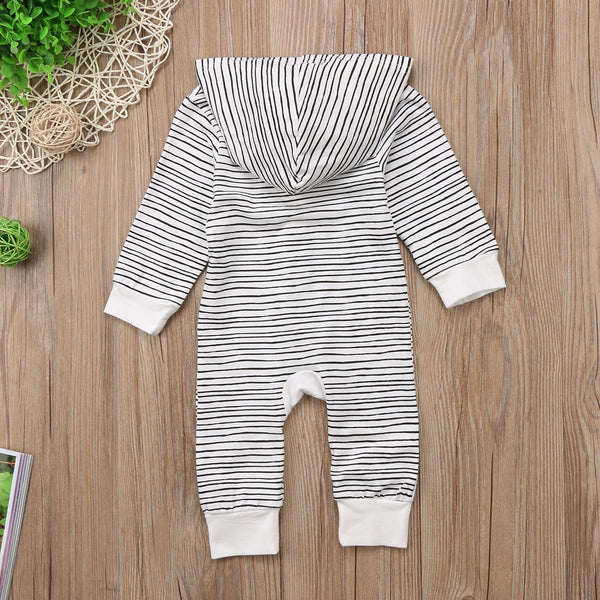 Baby Girl Boy Jumpsuit Striped Style