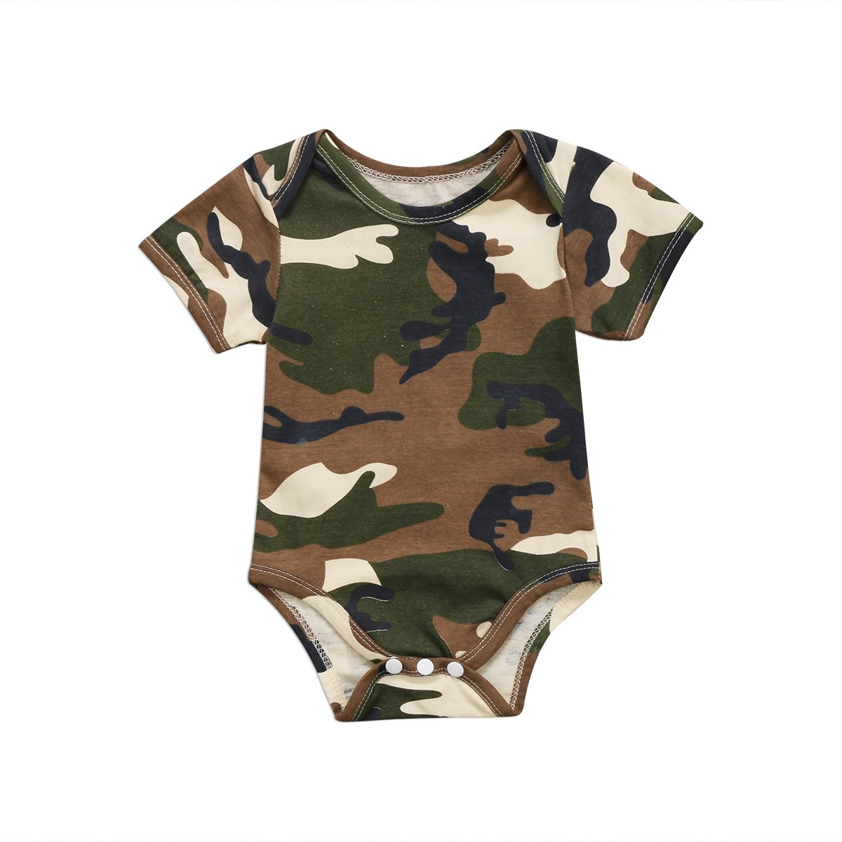 Baby Boy Girl Romper Camo Lover