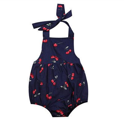 Baby Girl Romper O Fresh Cherry