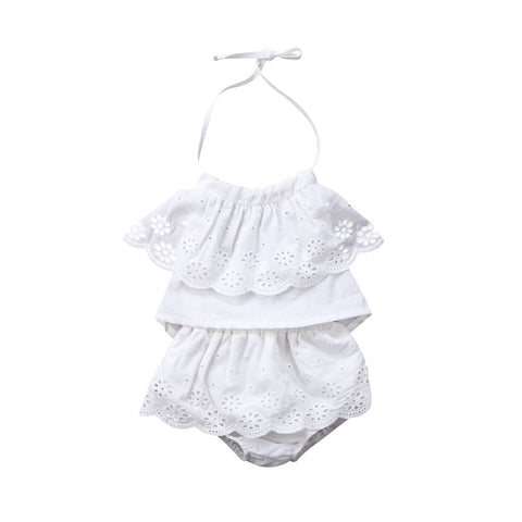 Girl Baby Girl Set Summer Cute Clothing