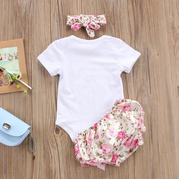 Girl Baby Girl Set Worth Floral