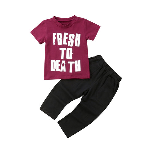 Kids Baby Boy Girl Set Fresh Outfit
