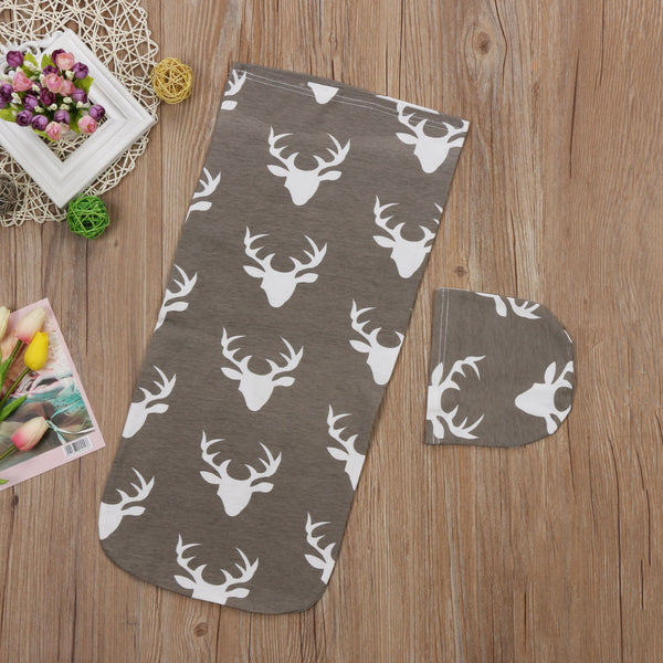 Baby Boy Girl Newborn Blanket Deer