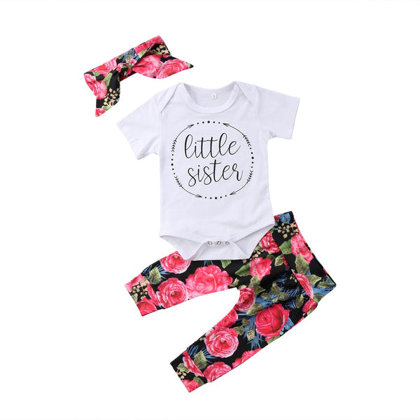 Baby Girl Nora Jumpsuit Set