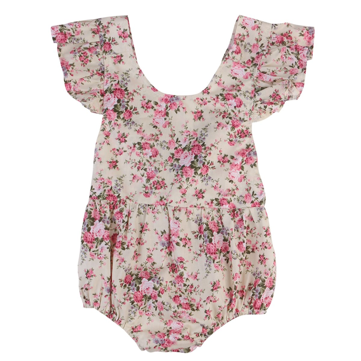 Girl Baby Girl Olivia Floral Jumpsuit
