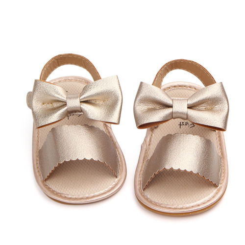 Baby Girls Sandals Bowknot Cute Me