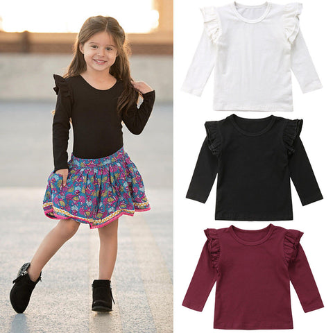 Girl Baby Girl Cute Blouse Sweetly