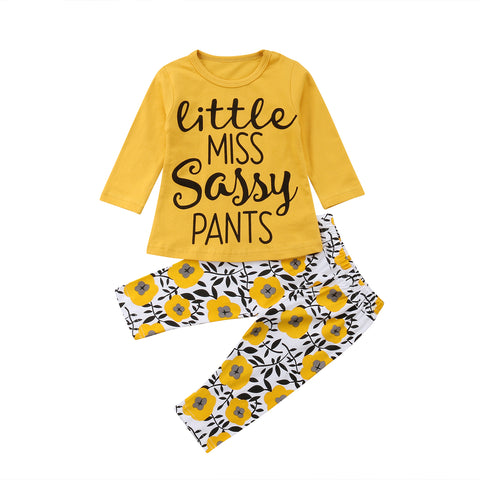 Girl Baby Girl Yellow Set Amanda