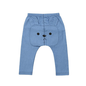 Kids Baby Boy Girl My Bear Harem Pants