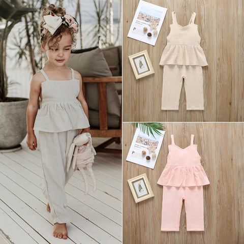 Baby / Toddler Girl Stylish Ruffle Allover Layered Onesies