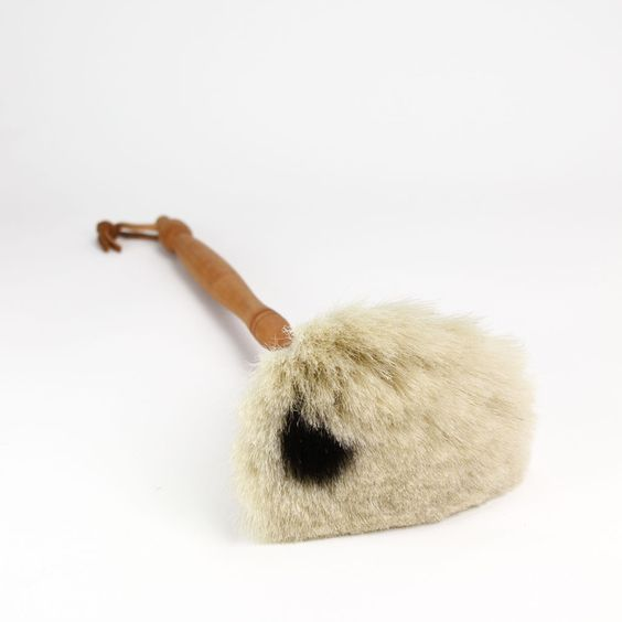 Redecker Goat Hair Duster - White